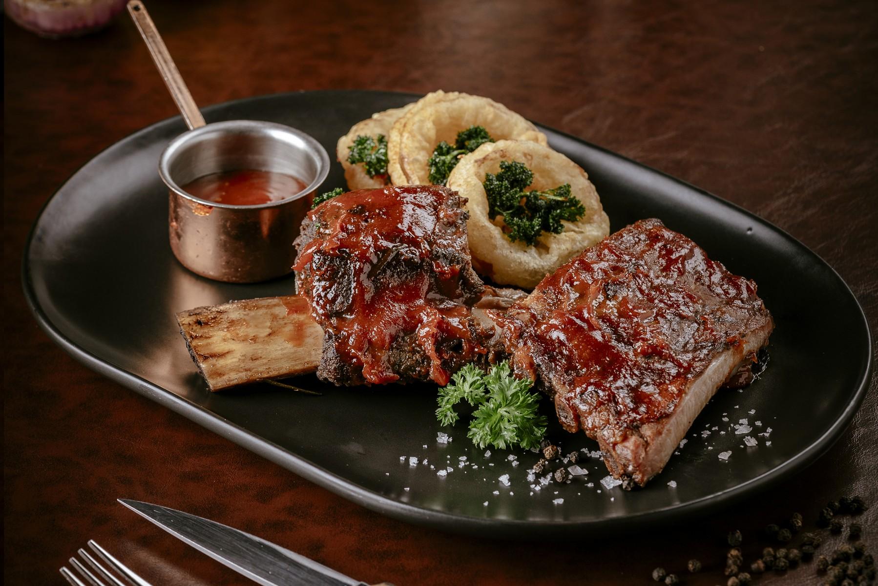 ร้านอาหารวิวและบรรยากาศดี Babette's The Steakhouse Bangkok